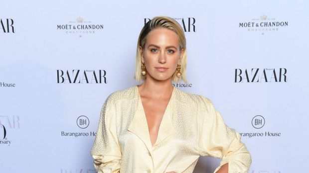 Spot the difference ... Jesinta Franklin, pictured on Tuesday, was mixed up with Victoria Lee by some photographers at ...