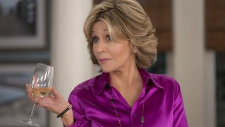 Jane Fonda's character, Grace on the sitcom, <iGrave and Frankie</i> has been known to enjoy wine o'clock and also vodka ...
