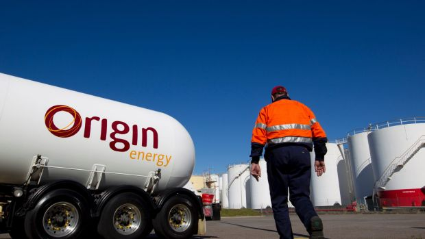 Origin Energy has taken a massive writedown on a coal seam gas field in Queensland