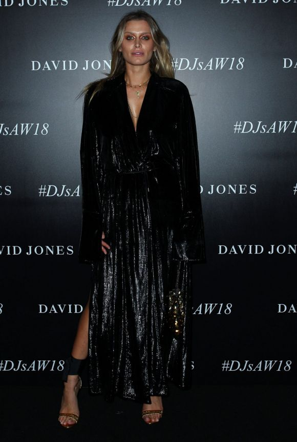 SYDNEY, AUSTRALIA - FEBRUARY 07: Cheyenne Tozzi arrives ahead of the David Jones Autumn Winter 2018 Collections Launch.
