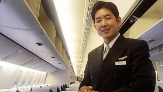 Park Chang-jin, the Korean Air flight attendant who found himself at the centre of the 'nut rage' incident involving the ...
