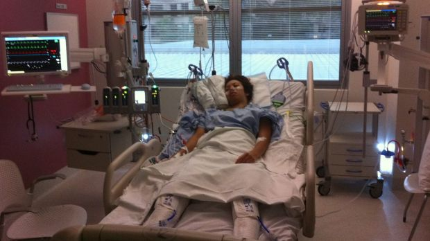 Leola Rose was 28 when she suffered a ruptured brain aneurysm and would spend the next three months in hospital.
