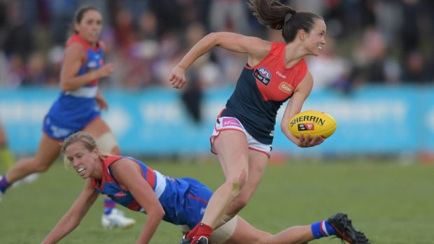 "AFLW star Daisy Pearce said she noticed an ""unprecedented physicality and intensity, almost at the expense of regard for ..."