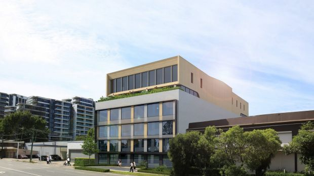 40 Ricketty Street is being upgraded by a private consortium in readiness for leasing