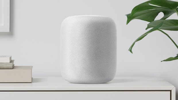 The speaker also comes in white.