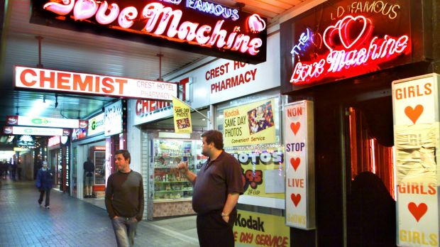 The man pleaded guilty to destroying property at The World Famous Love Machine Kings Cross.