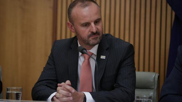 ACT Chief Minister Andrew Barr says the Dickson land swap was about social housing, not generating revenue for government.