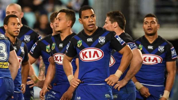 Better days ahead: The Bulldogs had a horror 2017, but are ready to turn things around.