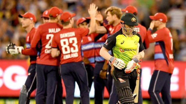 Captain's shock: David Warner is struggling with the bat this series.
