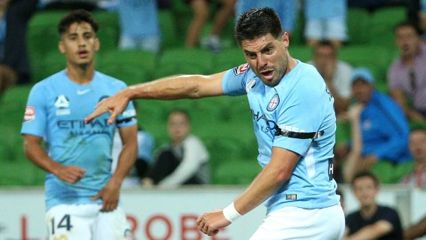 Emotions were running high for Bruno Fornaroli on his return to the A-League.