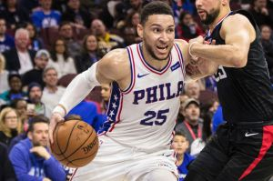 Sub-par: Ben Simmons was overlooked for an All-Star spot.