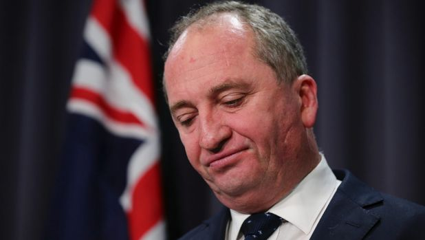 Barnaby Joyce is doomed. Now, it's just a matter of when.