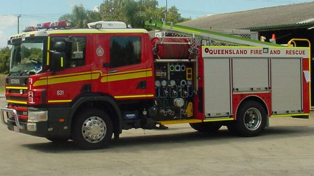 Emergency services attended a fire on the Gold Coast early Monday morning.