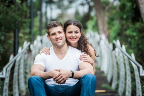 Sydney couple Andrea and Jeff Laurence have different attitudes to money.