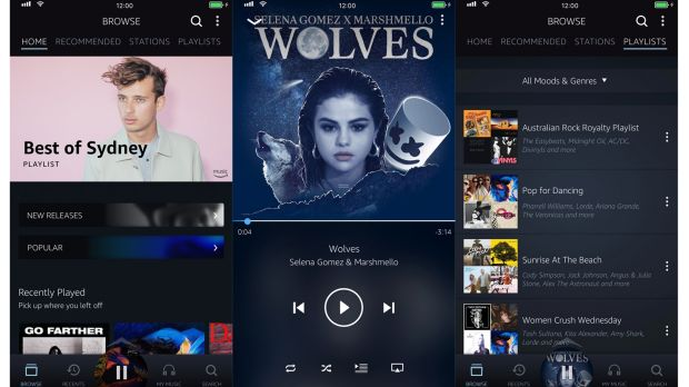 Amazon Music offers a fully-featured smartphone app.