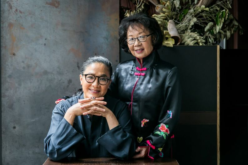 How the Kwong Clan celebrates Chinese New Year. Kylie Kwong and her mum Pauline at Kylie's restaurant, Billy Kwong, in ...