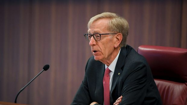 Commissioner Kenneth Hayne of the banking royal commission.