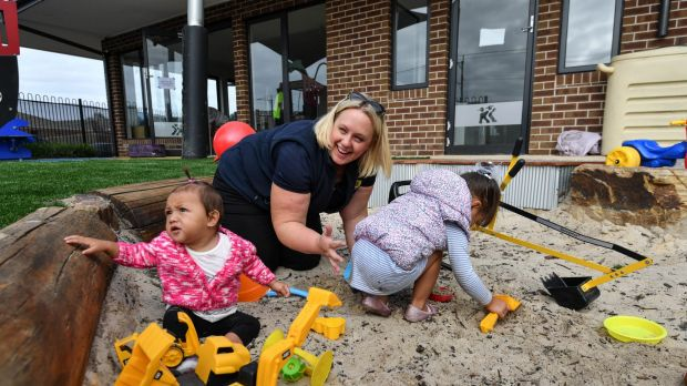 Back to work, and play: Sam Johnson, co-owner of Kool Kidz Tarneit is preparing to re-open her rebuilt childcare centre ...