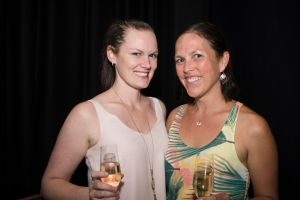 Canberra Theatre Centre Ben Folds Socials for print Wednesday 14th of February. Karah Ellis-Smith and Libby Crane from ...
