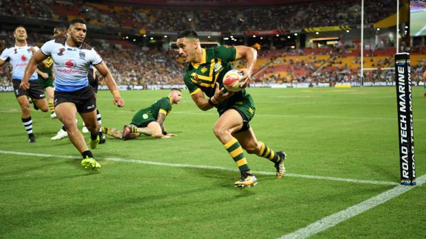 """""""I want to try being more vocal on the team, try and help lead the boys around the halves"""": Valentine Holmes."""