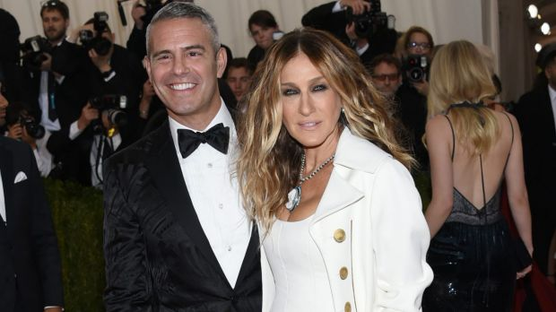 Andy Cohen and Sarah Jessica Parker went as each other's dates at the The Metropolitan Museum of Art Costume Institute ...