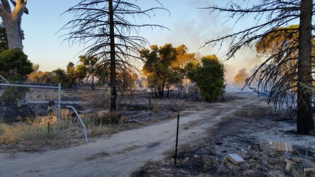 Rewards are on offer for information about suspicious fires in Baldivis.