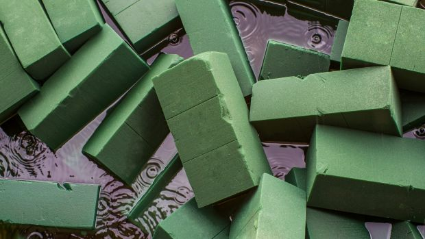 Floral foam: It's useful, but not good for the environment.