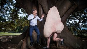 Opera singer Alexander Lewis with The Nose which will be performed at The Sydney Opera House in February. 13th February ...