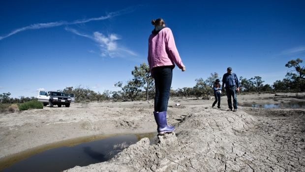 Lower Darling pastoralists have faced increasing bouts of dry times - even outside droughts.