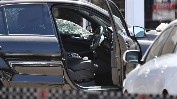 Police said they found Mick Hawi with a gunshot wound and he was taken to hospital in a serious condition.