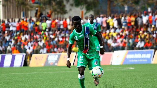 South Sudanese soccer player Robert Wurube.