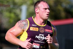 Long, hard road: Matt Lodge will not be forced by the NRL to pay damages on the basis that the governing body will not ...