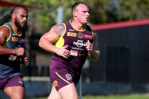 Matt Lodge will make a controversial return to the NRL next month.