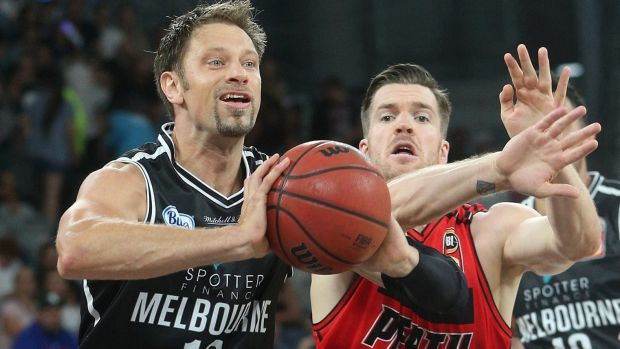 David Andersen brings a wealth of experience to Melbourne United.
