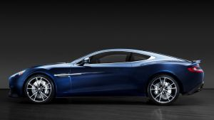 Actor Daniel Craig's limited edition centennial 2014 Centenary Edition Vanquish, numbered 007, is seen in an undated ...