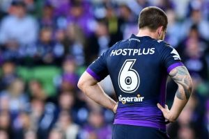 Sent off: The Storm's Cameron Munster has a strained relationship with his national teammates.