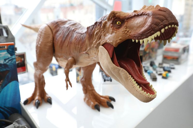 Universal unveils the toy and lifestyle collections inspired by Jurassic World: Fallen Kingdom.