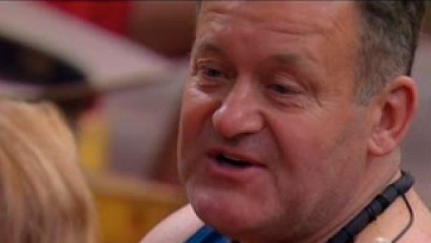 Paul Burrell on Sunday night's episode of I'm A Celebrity ... Get Me Out of Here!
