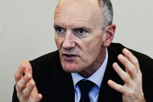 Christophe Cuvillier, the CEO of Unibail-Rodamco who is in Australia seeing investors