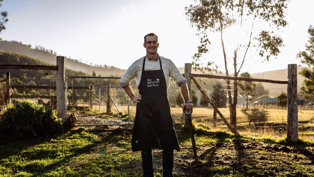 Rodney Dunn of New Norfolk eatery The Agrarian Kitchen.