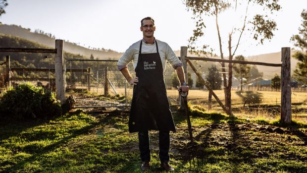 rodney dunn of AgrarianKitchen_pic credit AdamGibson story on tasmanian producers and chefs by paul best for AFR Life ...