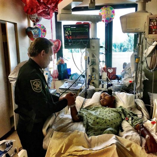 This image made available by the Broward County Sheriff's Office on Sunday, Feb. 18, 2018, shows Sheriff Scott Israel, ...