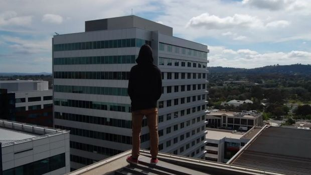 "A YouTube channel documents teens ""exploring"" abandoned buildings around Canberra."