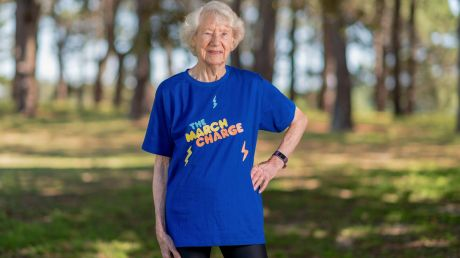 Heather Lee is a World Masters Games race walking champion.