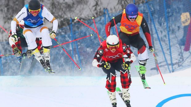 David Duncan represented Canada in the freestyle skiing event.