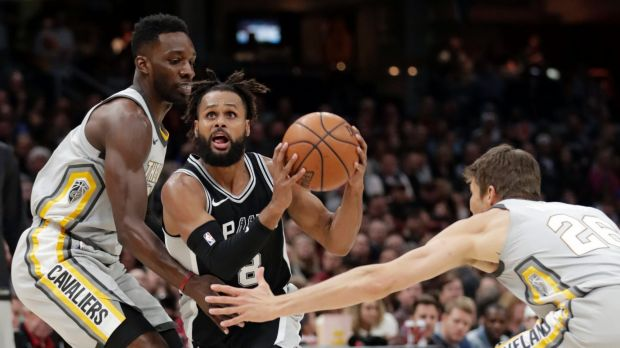 Patty Mills' game against the Cavs was overshadowed by a racial slur from the crowd.