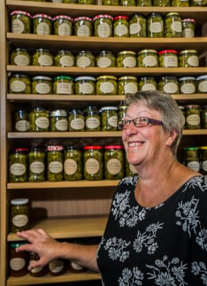 Annette Bunfield fills her pantries with homemade preserves.