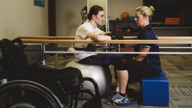 People in Canberra with spinal cord injuries or other neurological disabilities will now be able to use NeuroMoves.