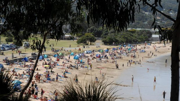 The popular Great Ocean Road town of Lorne will play host to 60 Hells Angels members and their families on St Patrick's ...
