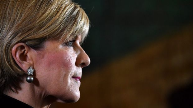 Julie Bishop: a renegotiated treaty is not required.